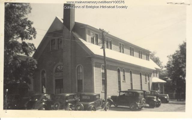 Gymnasium, Gibbs Avenue, Bridgton, ca. 1938