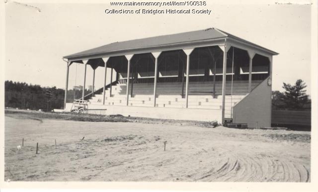 Ball Park, Depot Street, Bridgton, ca. 1938
