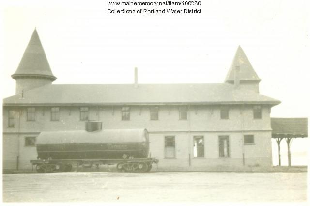 Sebago Lake Station, Standish, ca. 1935
