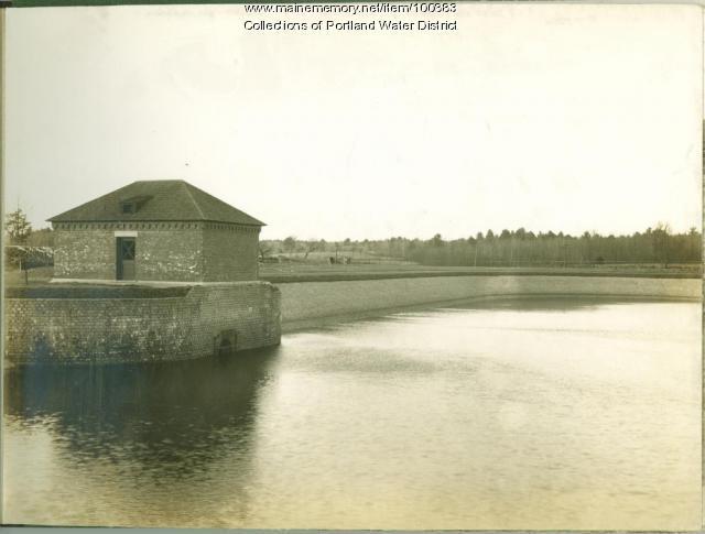 Sebago Lake Reservoir, Standish, ca. 1912