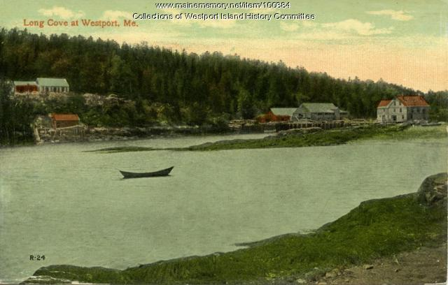 Long Cove, Westport Island, ca. 1908