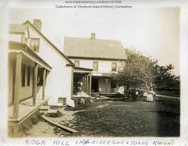 Rock Hill Inn, Westport Island, ca. 1908