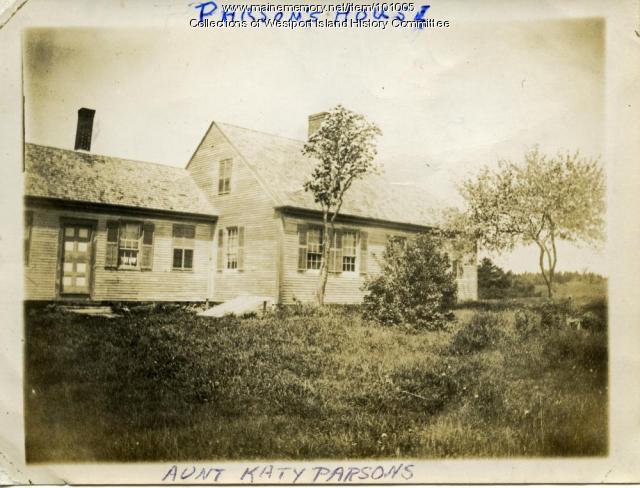 Parson's house, Westport Island, 1907