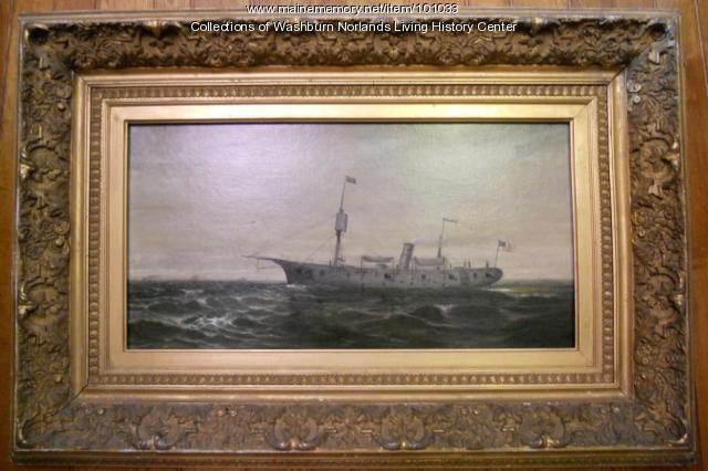 "Ironclad gunboat ""Galena"""