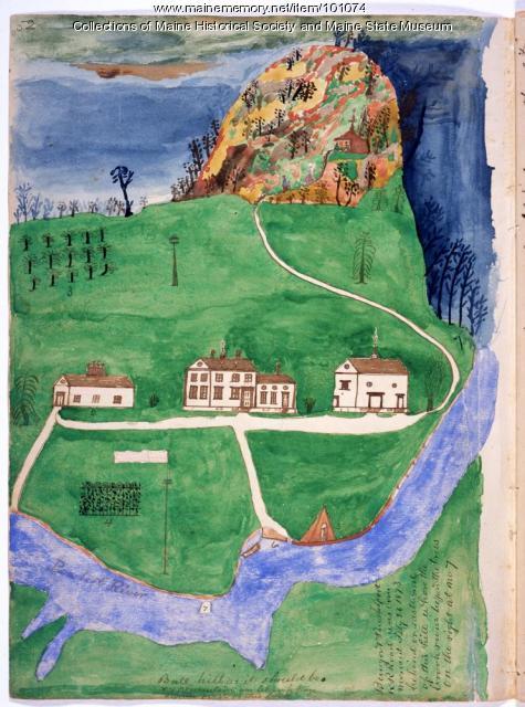 John Martin dream house, Bangor, 1866