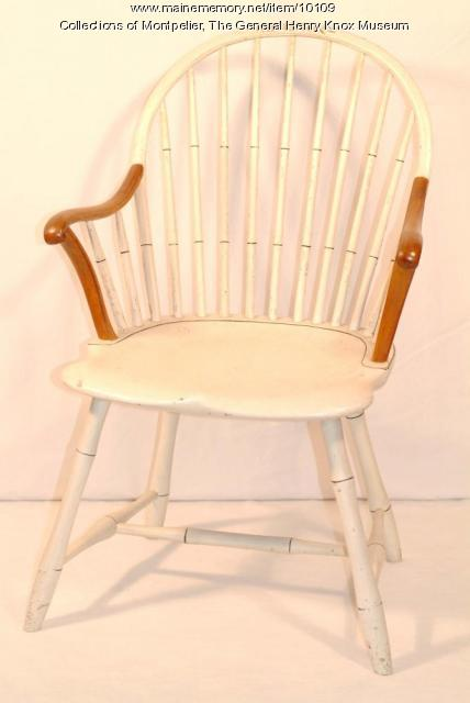 Knox Windsor chair, Thomaston, 1794