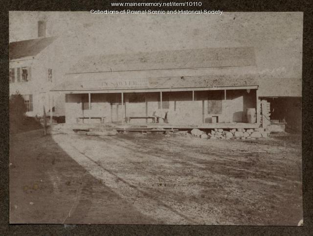 Benjamin Randall Store, Pownal, ca. 1895