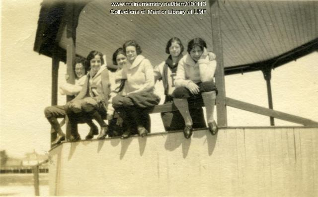 Normal School students, Farmington, ca. 1923
