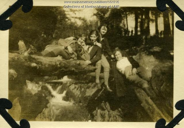 Normal School students, Farmington, ca. 1925