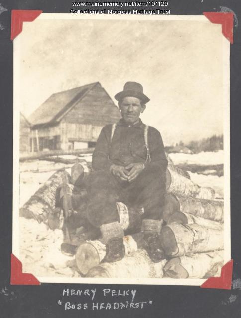 Henry Pelky, Norcross, ca. 1910