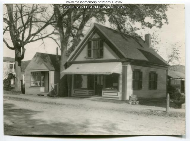 Rumford Falls Light and Power Company shop, Dixfield, ca. 1920