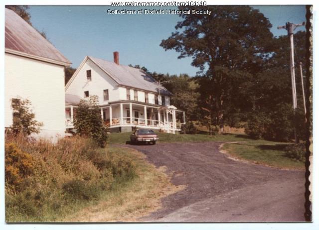 Morrison Farm, Dixfield, 1986
