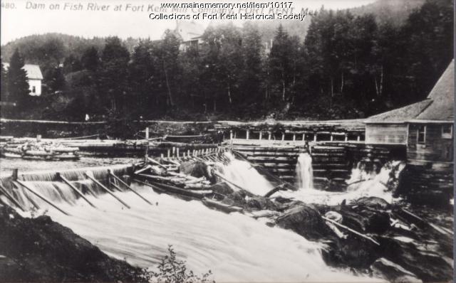 Dam, Fish River, 1910