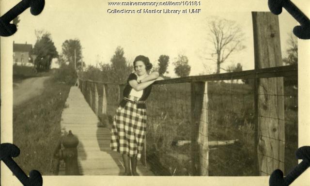 Louise Kelley, Farmington, ca. 1922
