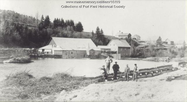 Fort Kent Mill Company, ca. 1900