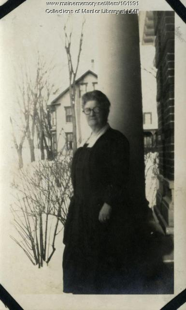 L. Estelle Allen, Farmington, ca. 1923