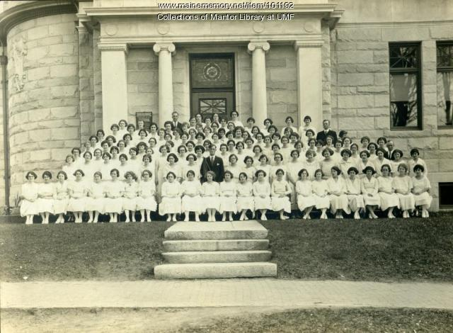 Normal School graduating class, Farmington, 1923