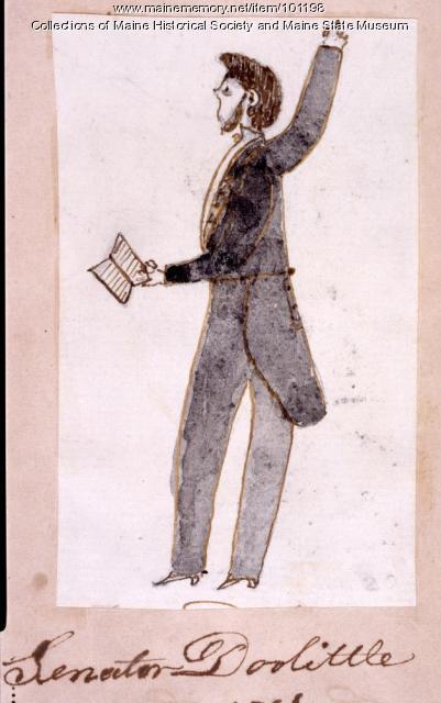 Senator James Doolittle, Bangor, 1866