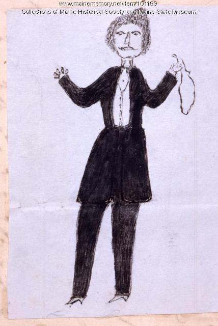 George Francis Train, Bangor, 1866