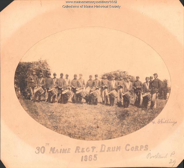 30th Maine Regiment, Drum Corps, 1865