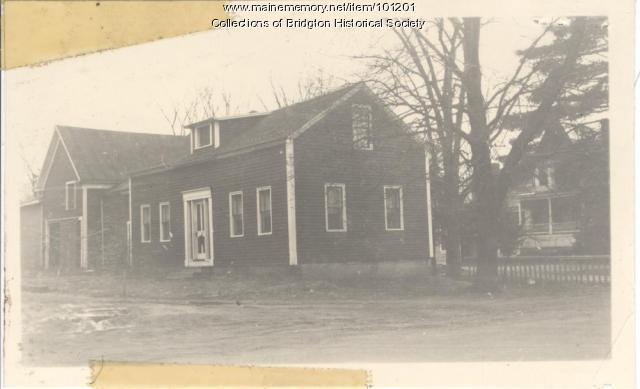 2 Flint Street, Bridgton, ca. 1938