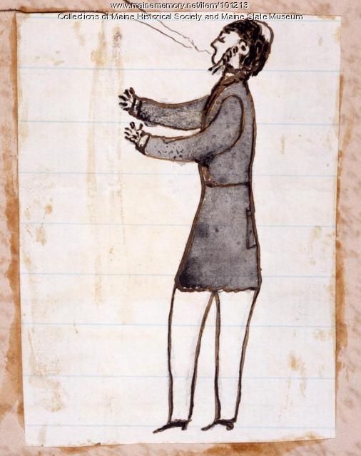 Dr. George W. Ladd, Bangor, ca. 1866