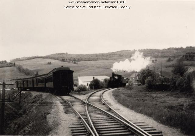 Bangor and Aroostook Railroad, Fort Kent, c. 1940