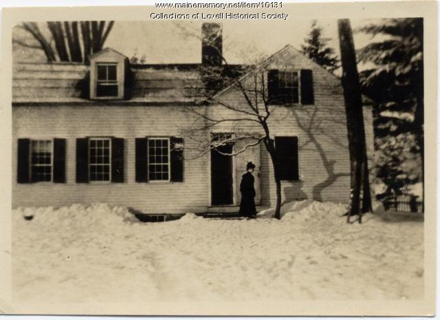 Charlotte Hobbs homestead, Lovell Village, ca. 1880