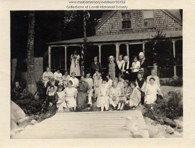 Women's Library Club, Lovell, ca. 1930