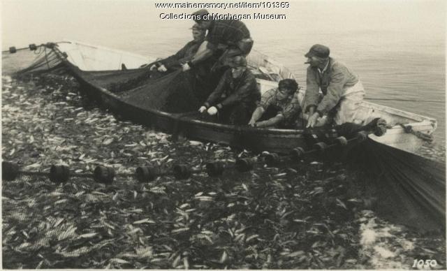 Seine crew, Monhegan, ca. 1930