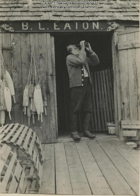 "Bainbridge ""Uncle Ben"" Davis, Monhegan, ca. 1900"