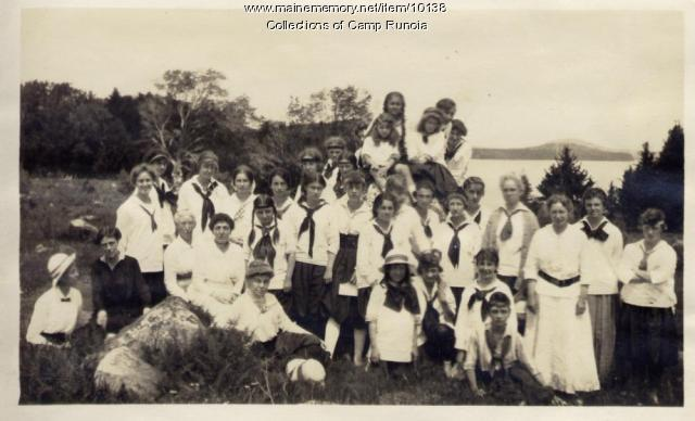 Camp Runoia All Camp Picture 1915