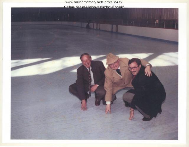 Dedication of the Portland Ice Arena, 1984