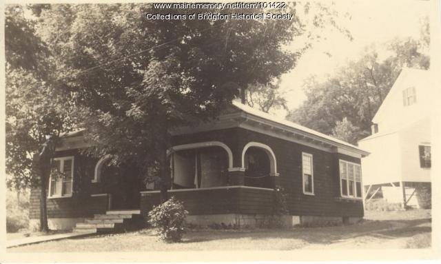 1 Gage Street, Bridgton, ca. 1938
