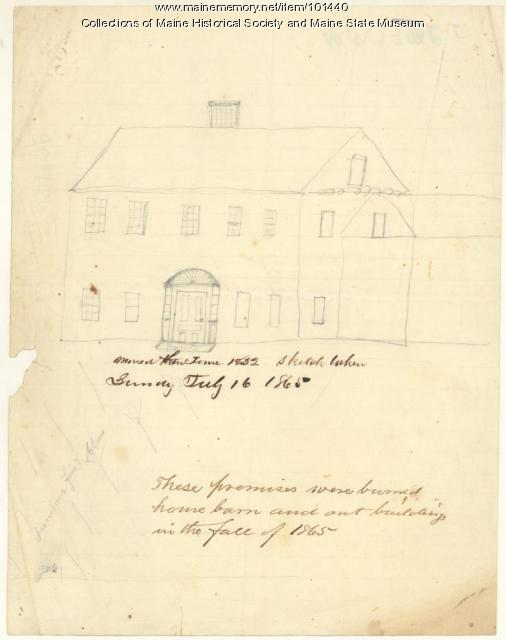 Skinner Farm, Brewer, 1865