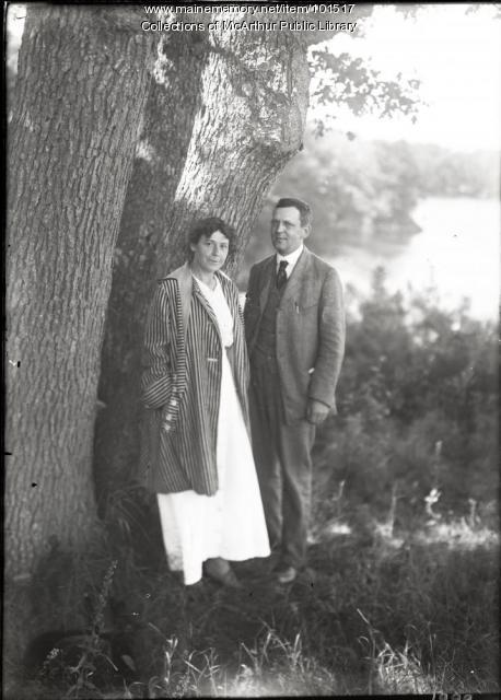 Mr. and Mrs. C.W. Jordan, Biddeford, 1916
