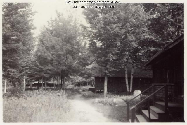 Pathway to the Infirmary at Camp Runoia