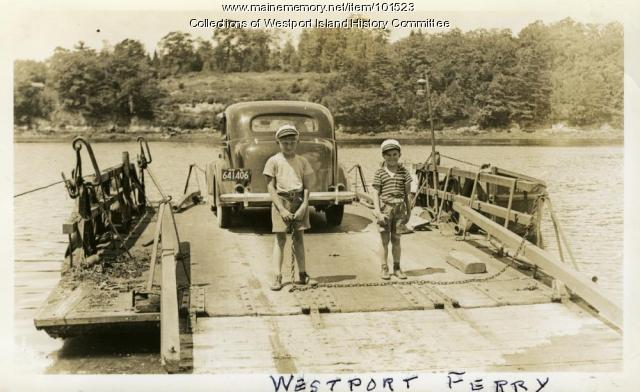 Heading to Wiscasset, Westport Island, ca. 1936