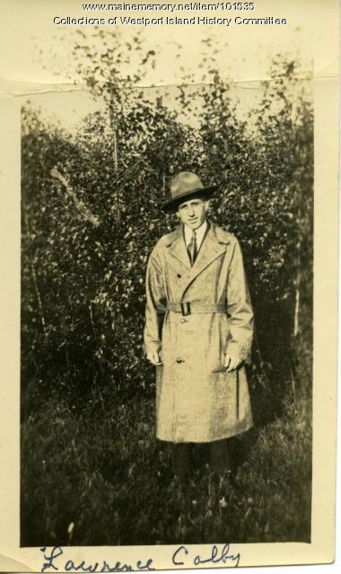 Lawrence Colby, Westport Island, 1920