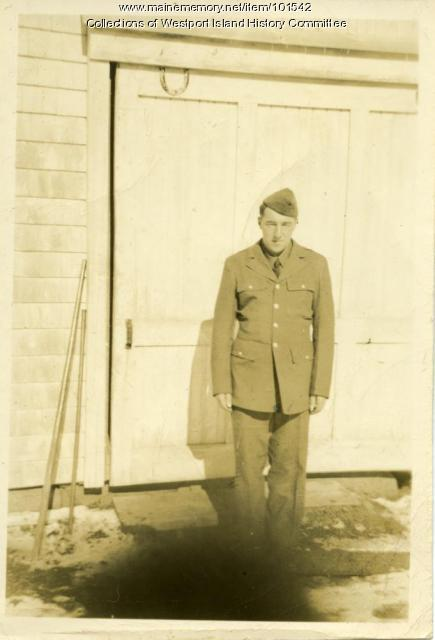 Archie Cunningham, Westport Island, ca. 1941