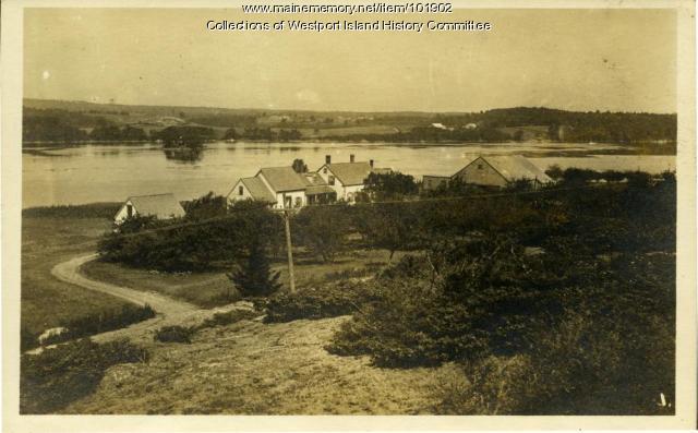 The Rial Colby farm, Westport Island, ca. 1930