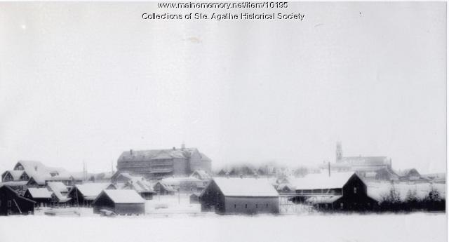 St. Agatha in winter, ca. 1935