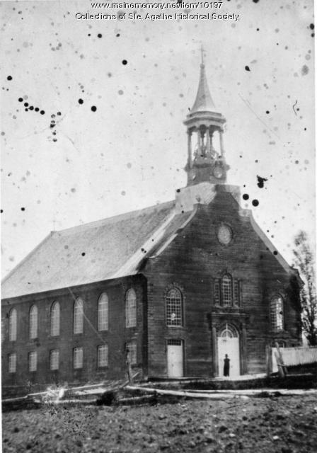 Ste-Luce Church, Upper Frenchville, ca. 1850