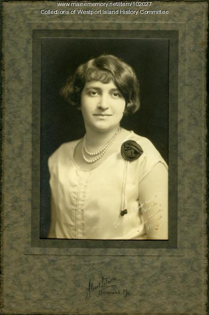 Bessie Greenblatt, Bath, ca. 1927