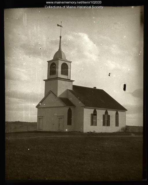 Spurwink Meeting House, Cape Elizabeth, ca. 1910