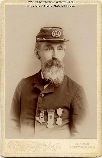 Captain Fred C. Low, ca. 1880