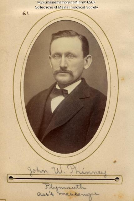John W. Phinney, Plymouth, 1880