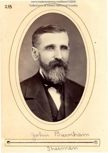 John Burnham, Sherman, 1880