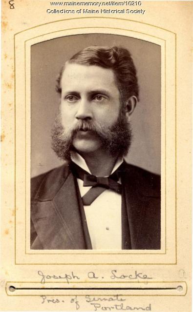 Joseph A. Locke, Portland, 1880
