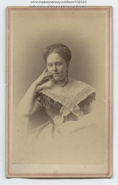 Alida Carroll Brown, Portland, ca. 1870